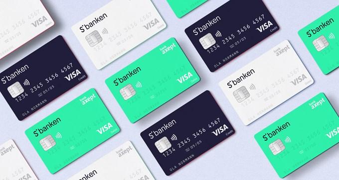 Bilde av kontaktløse bankkort.