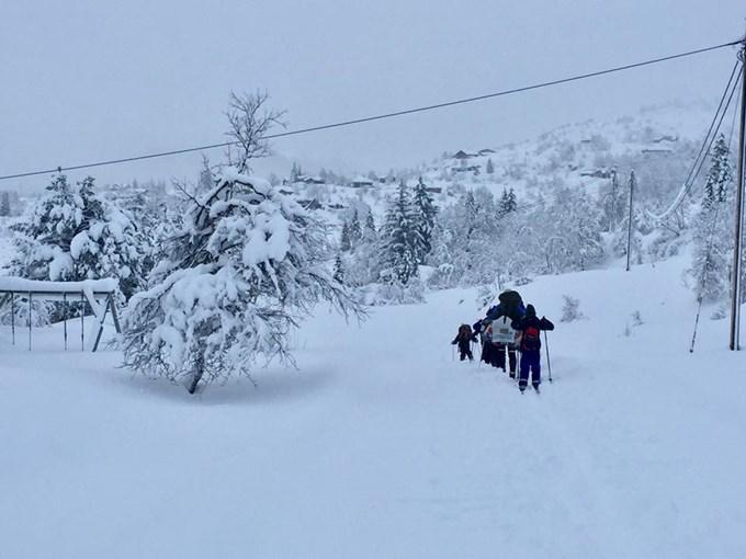 AKE på skitur