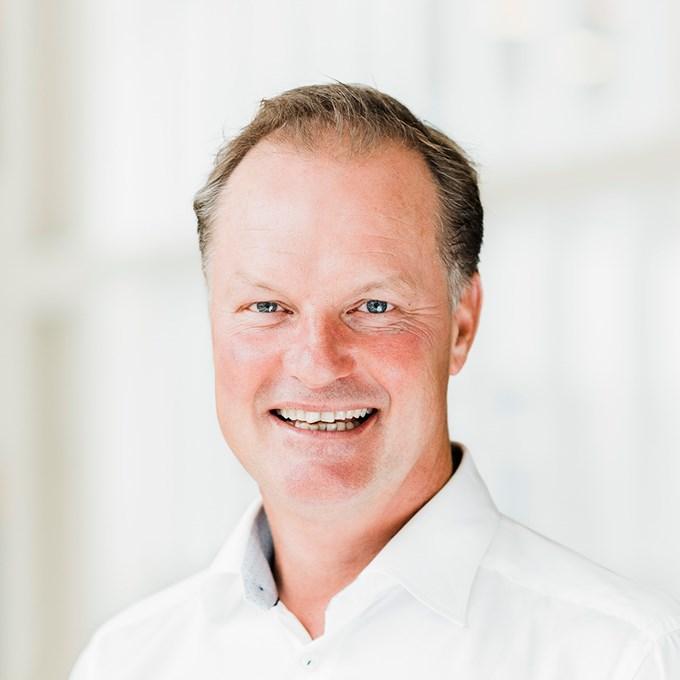 Picture of Sbanken CEO, Øyvind Thomassen. Photo: Cecilie Bannow.
