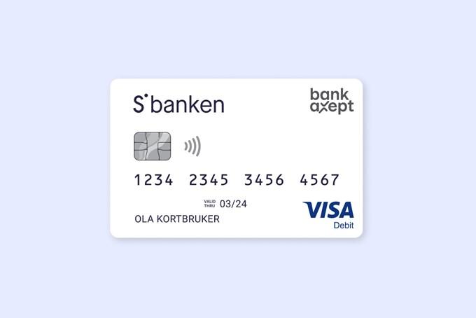 Bilde av bankkort