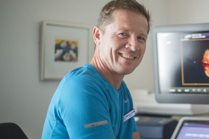 Dag Harald Hovind, klinikksjef ved Ultralydklinikken AS. Foto.