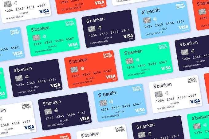 Bankkort. Foto