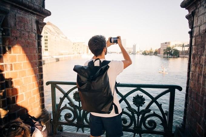 Mann tar bilde | Foto